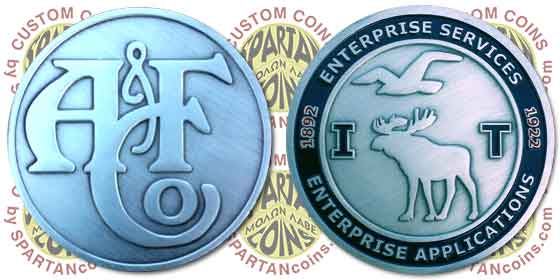 Abercrombie & Fitch IT challenge coin